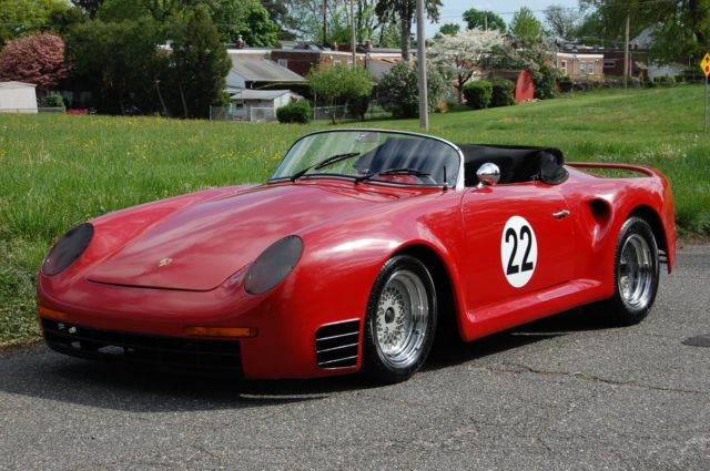 1967 Kit Car Porsche Replica Convertible On Vw Beetle Bug Chis And Engine