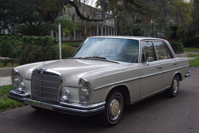 1967 mercedes 250se w108 2 owners db158 true euro car for Mercedes benz w108 for sale