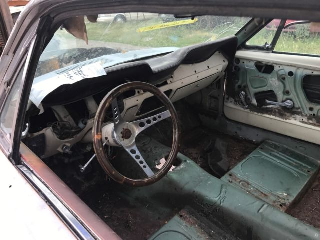 1967 Ford Mustang Fastback Project Car For Sale: 1967 Mustang Fastback S Code Project Or Parts Car. NO TITLE