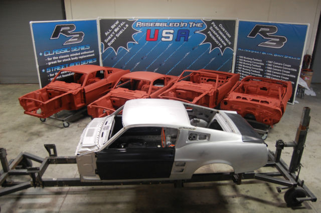 1967 or 1968 mustang fastback body shell not original ford. Black Bedroom Furniture Sets. Home Design Ideas