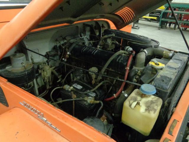 1967 Toyota Land Cruiser FJ40 FJ-40 Barn Find