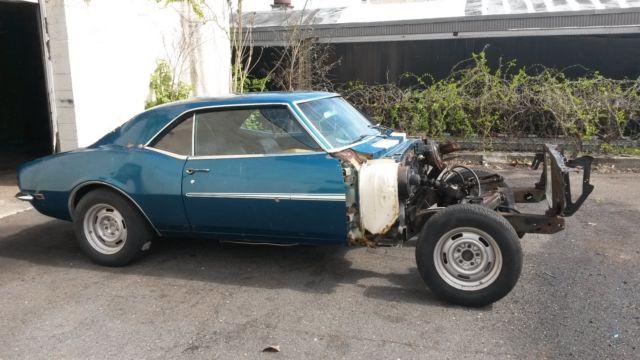 1968 Camaro SS CLONE RS project car 327 275hp 400 TRANSMISSON