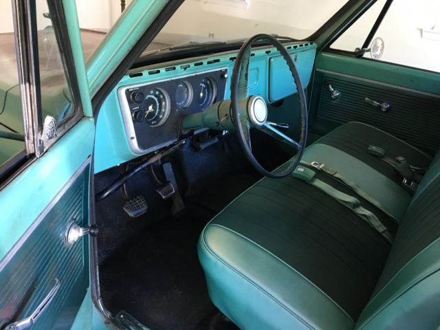 1968 chevrolet c10 truck nice original patina longbed very ...
