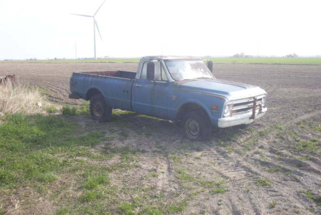 1968 CHEVY 3/4 TON PICKUP TRUCK 4x4 MUD PULLING TRUCK 67