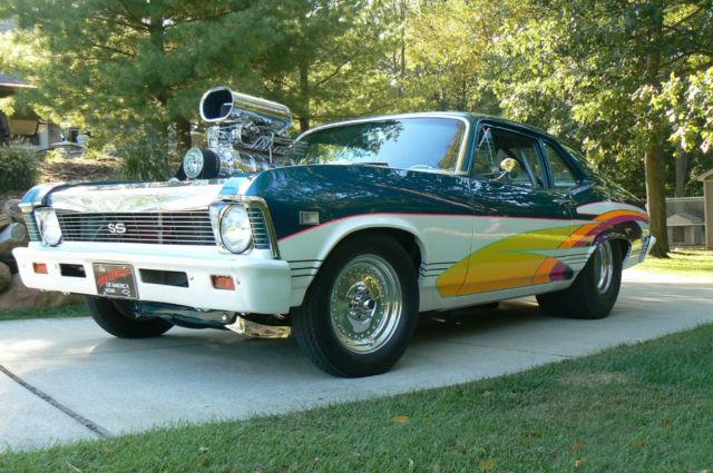 1968 Chevy Ii Nova Pro Street Custom