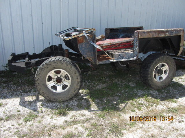 Bug Rock Crawler : Ford bronco project car bug out vehicle bov off