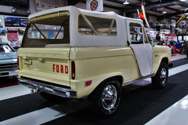 1968 ford bronco roadster u13 for Telephone number for ford motor company