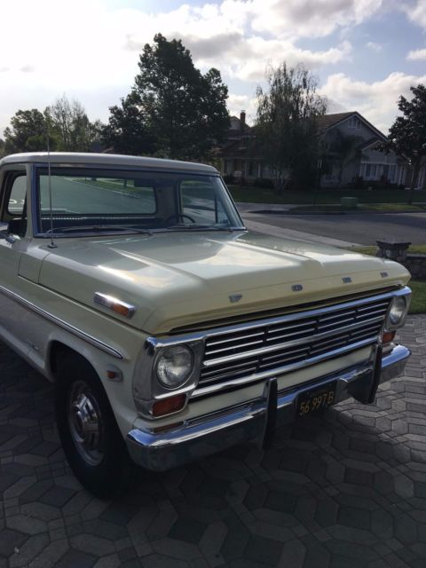 1968 ford f250 3 4 ton longbed pickup clean original. Black Bedroom Furniture Sets. Home Design Ideas