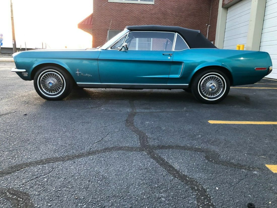 1968 Mustang Aqua