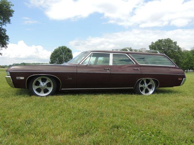 1968 impala station wagon   6 passenger   chevy   chevrolet   patina