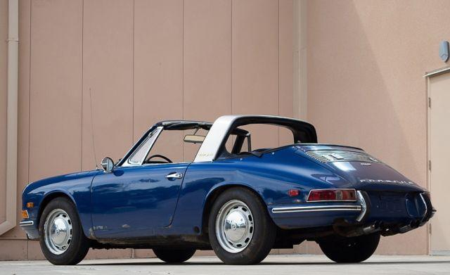 1968 porsche 912 soft window targa coa matching numbers for 1968 porsche 912 targa soft window