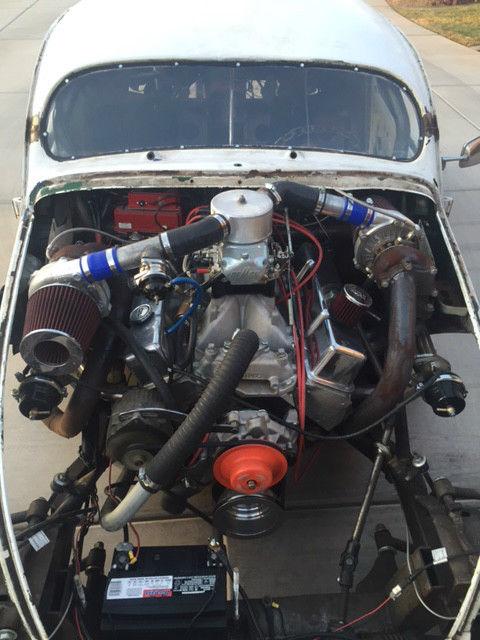 vw rat rod volksrod tube chassis  twin turbo hot rod ratrod
