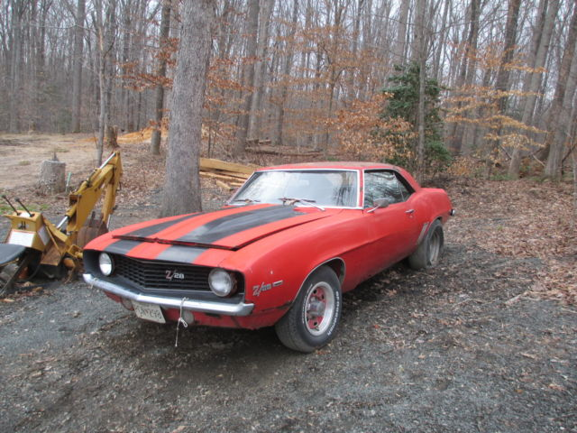 1969 camaro big block ss 4 speed x 22 code project car virginia. Black Bedroom Furniture Sets. Home Design Ideas