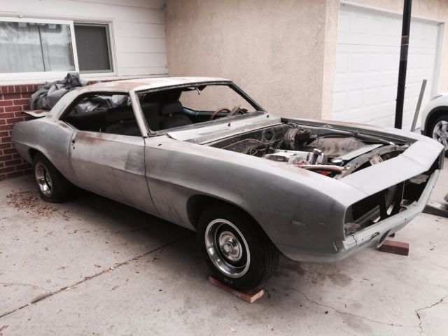 1969 camaro ss 350 project car. Cars Review. Best American Auto & Cars Review