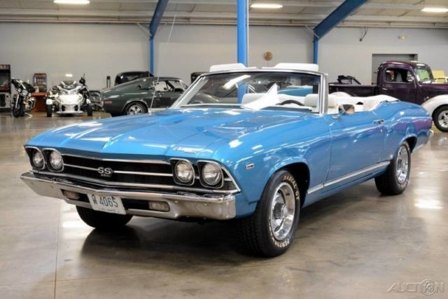 1969 Chevelle SS 454 Convertible Tribute Automatic 69