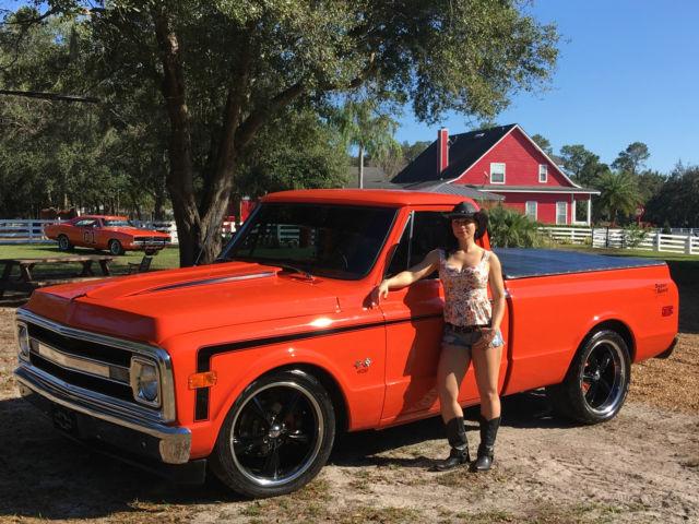 1969 chevy c10 super sport truck retro rod. Black Bedroom Furniture Sets. Home Design Ideas