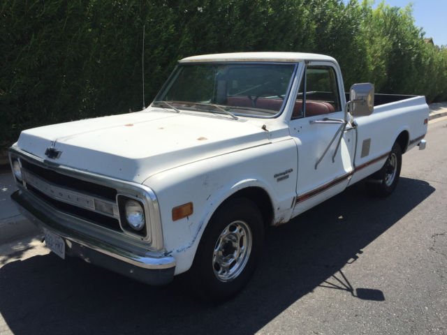 1969 Chevy Truck For Sale >> 1969 Chevy Truck C-20 Classic Camper Special - 69 ...