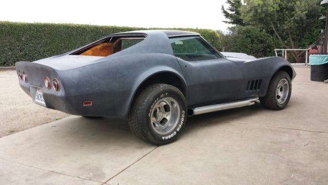 1969 corvette hot rod barnfind gasser street machine trans. Black Bedroom Furniture Sets. Home Design Ideas