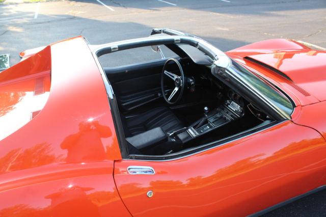 1969 Corvette Monaco Orange 350 350hp T Top