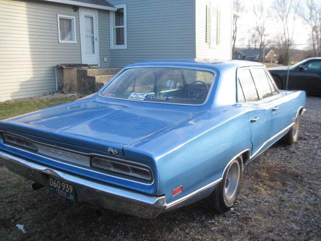1969 Dodge Coronet 440 Seden 4 Door