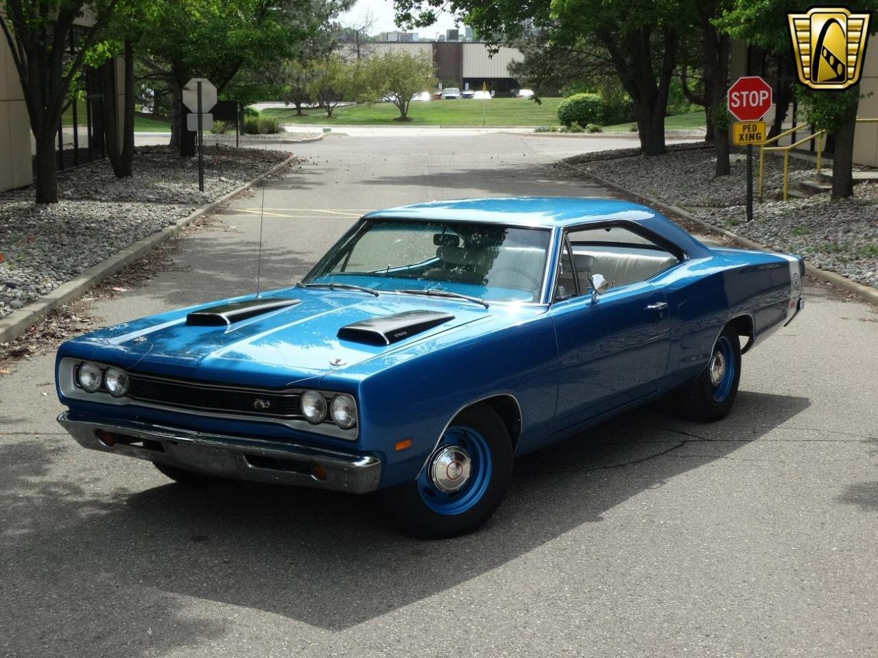 1969 dodge super bee 42300 miles b7 blue coupe 383 cid 4. Black Bedroom Furniture Sets. Home Design Ideas
