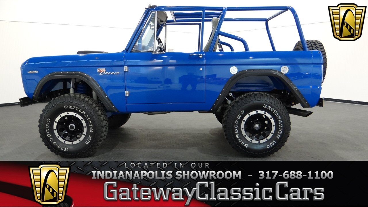 1969 Ford Bronco 1002 Miles Blue Suv 302 Cid V8 C4 3 Speed Automatic Lifted