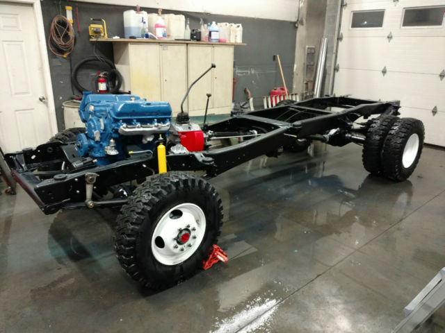 Transfer Case Parts >> 1969 FORD F350 4WD HOLMES 440 WRECKER. FRAME-OFF ...