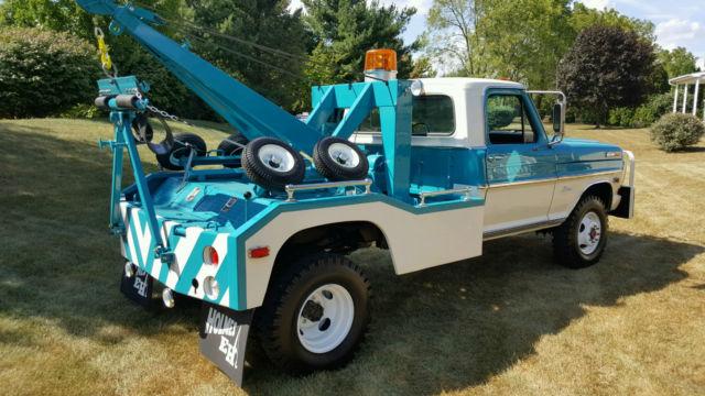 1969 Ford F350 4wd Holmes 440 Wrecker  Nut  U0026 Bolt Restoration   F100  F250