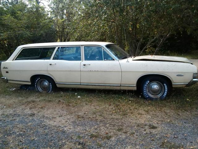 1969 Ford Fairlane 500 Station Wagon V8 Auto Clear