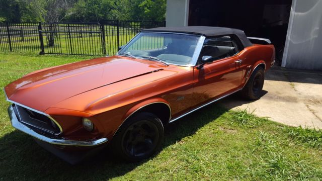 1969 ford mustang convertible 351. Black Bedroom Furniture Sets. Home Design Ideas