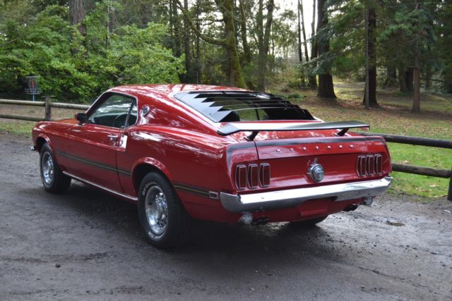 1969 Ford Mustang Mach 1 M Code 4 Speed Gt Beautiful