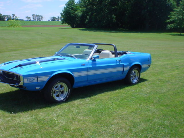 1969 ford mustang shelby gt 500 convertible. Black Bedroom Furniture Sets. Home Design Ideas