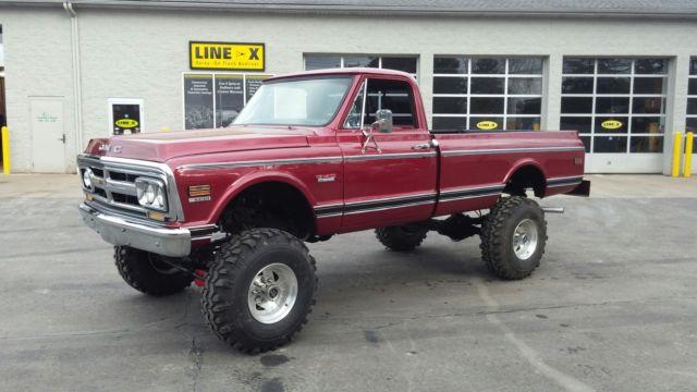1969 Chevy Truck For Sale >> 1969 GMC K20 4X4 Truck Nice! Chevrolet C10 K10 K20