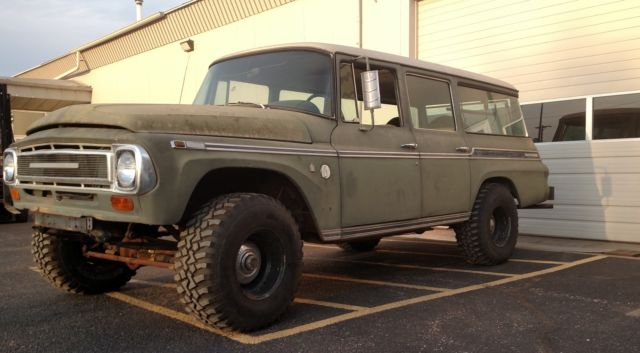 1969 International Travelall 4x4