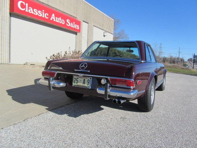 1969 Mercedes 280 Sl Pagoda Top Concourse Restoration 250