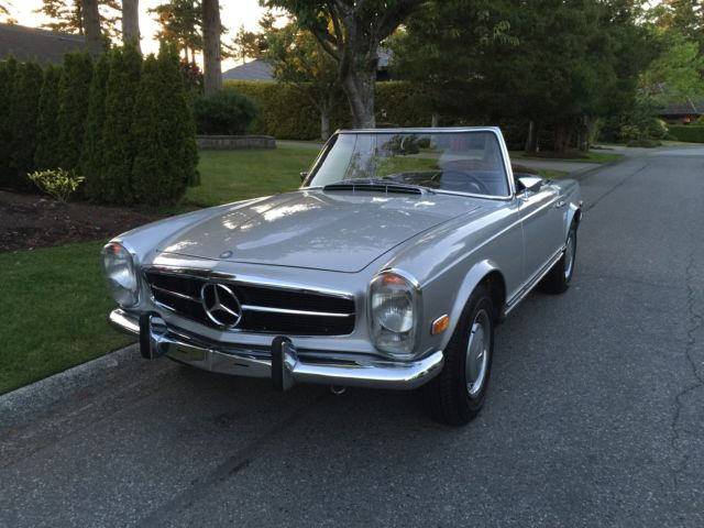 1969 mercedes benz 280 sl pagoda for Mercedes benz pagoda