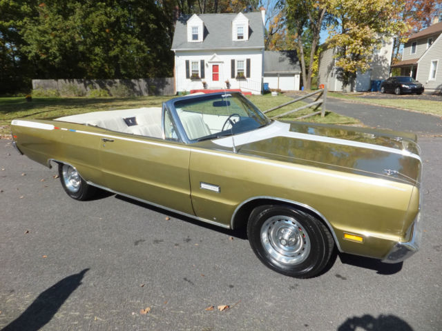 1969 Plymouth Sport Fury Convertible Rare 1 Of Only 1579