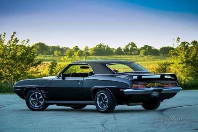 1969 Pontiac Firebird 350ci 350hp Factory Ho Phs Doc