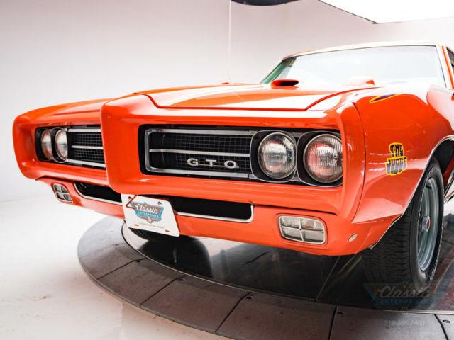1969 Pontiac Gto Judge 400 Ram Air Iii V8 3 Speed