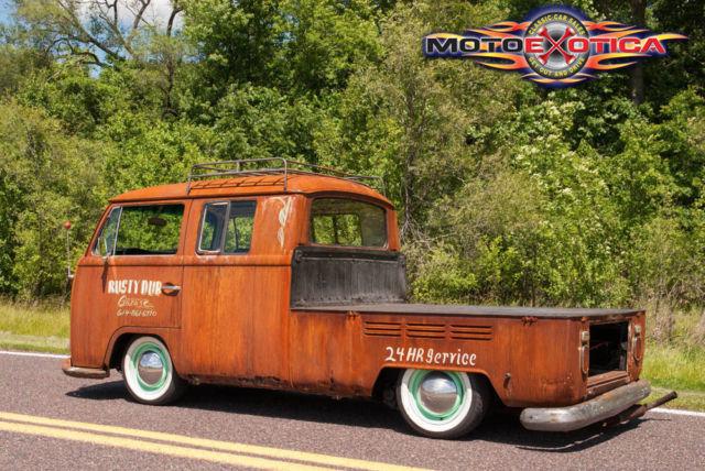 6477472463 1969 Volkswagen Double Cab Pickup