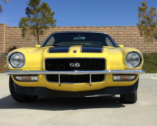 1970 Camaro SS ZZ430/475HP 200R4 Daytona Yellow Pro Touring Muscle Car