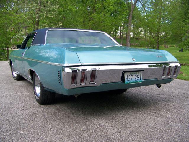Marshfield Chevrolet Used Cars 1970 Chevrolet Caprice 2-Door HT 350-4bbl, Turbo 400, 12 Bolt
