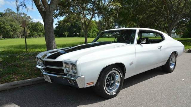 Clearwater Used Chevrolet >> 1970 Chevrolet Chevelle SS 23,242 Miles White Coupe 454 Manual