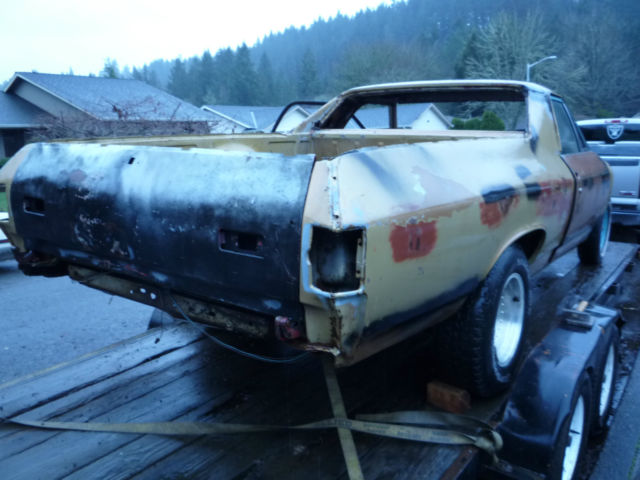 1970 Chevrolet Elcamino Restoration Project