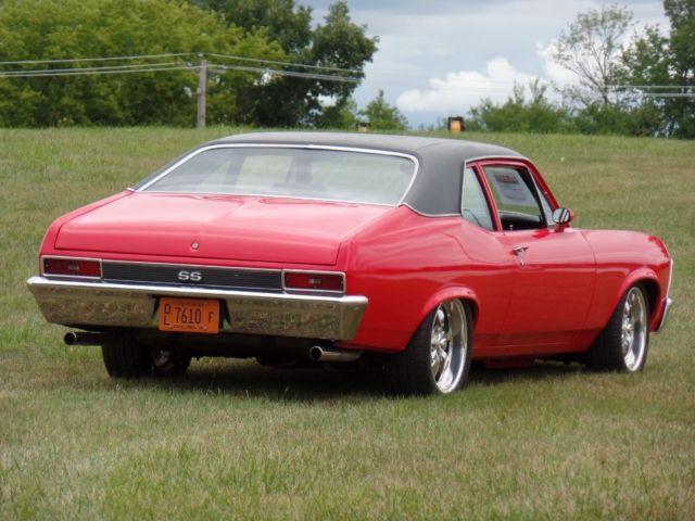 1970 Chevrolet Nova Real Ss Resto Mod Pro Touring Show