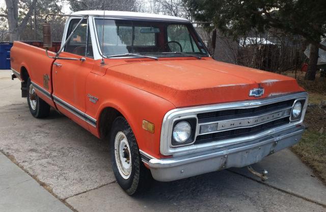 1970 Chevrolet Pickup Truck C20 1967 1968 1969 1971 1972
