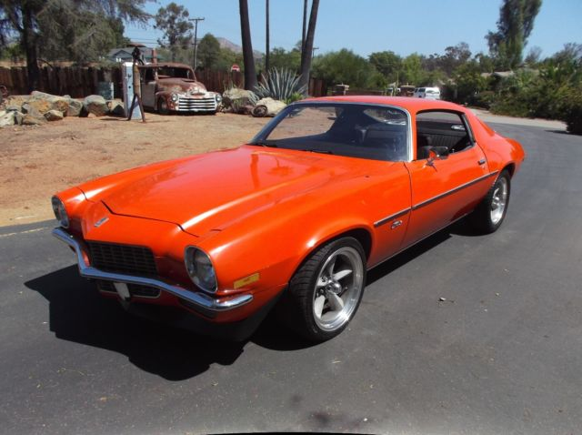 1970 Chevy Camaro Factory Hugger Orange Column Shift