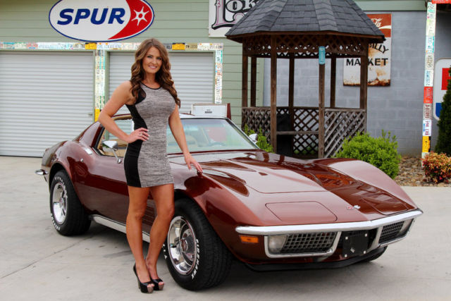 Smoky Mountain Traders Model Haley >> 1970 Chevy Corvette Matching Numbers 350 Muncie 4 Speed 4WPDB Power Steering