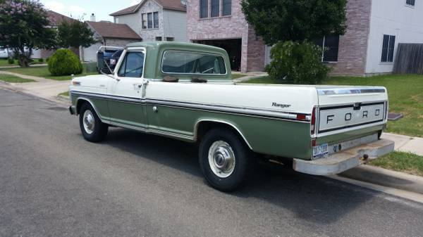1970 ford f 250 ranger truck. Black Bedroom Furniture Sets. Home Design Ideas