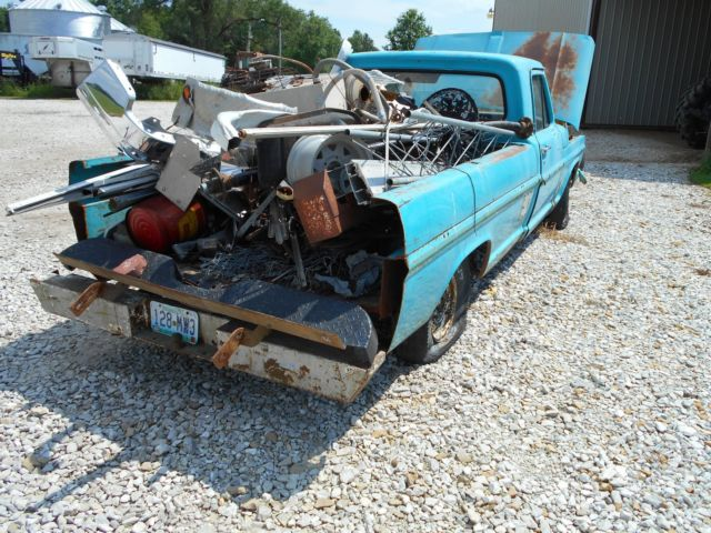 Ford F250 Parts >> 1970 Ford F100 F250 Parts Truck